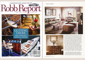 Robb Report, Living Room, Detail