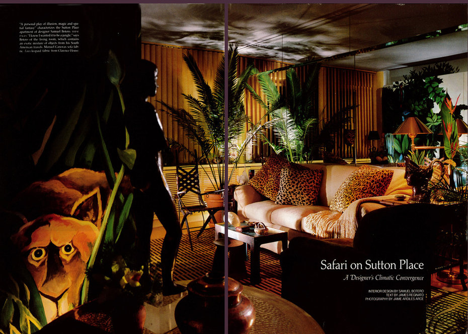 Safari on Sutton, Centerfold, Living Room