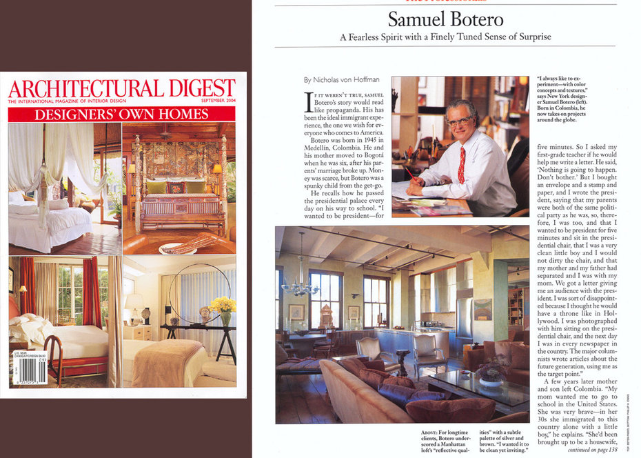 Architectural Digest, Career Profile, View From The Top