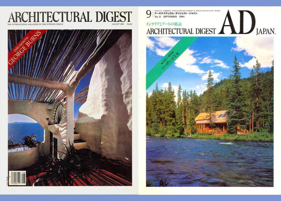 Architecturtal Digest, Yasmin Aga Khan,