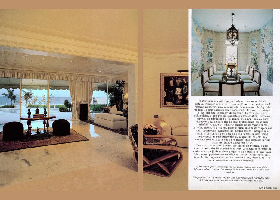 Casa & Jardim, Ocean Room, Living Room