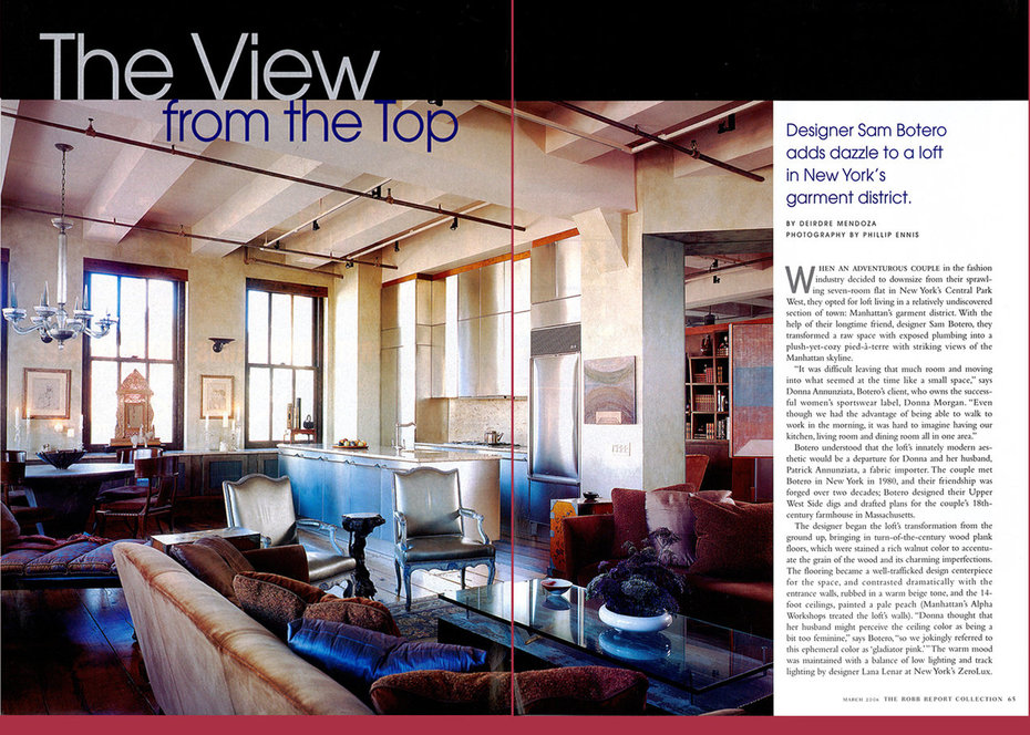 Robb Report, Loft, Living Room