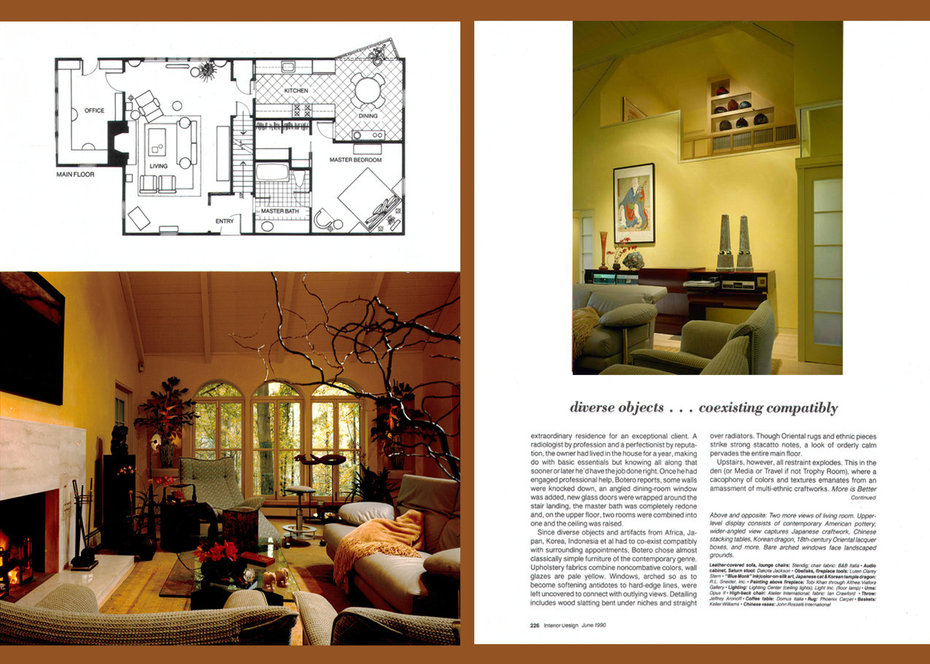 Interior Design, Country Retreat, Article