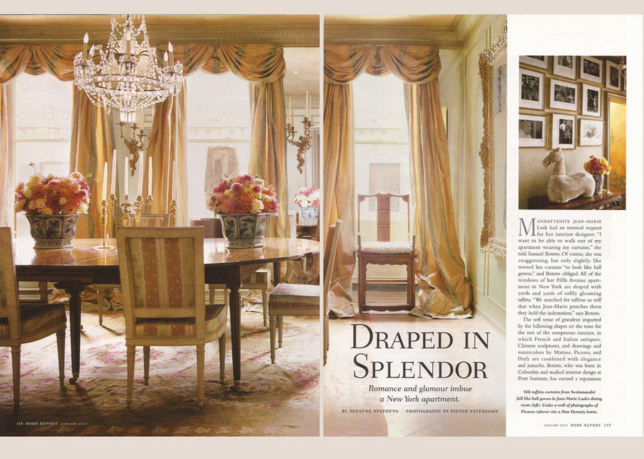 Robb Report, Dining Room,