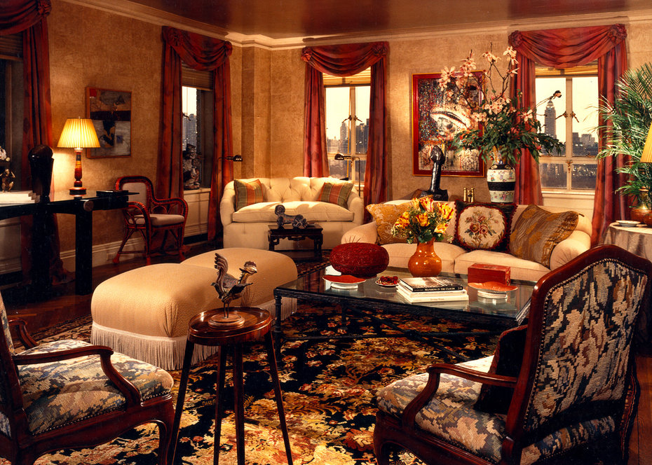 ARCHITECTURAL DIGEST, NEW YORK, Living Room