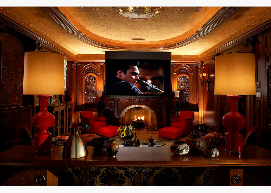 Home Theater,Architectural Digest