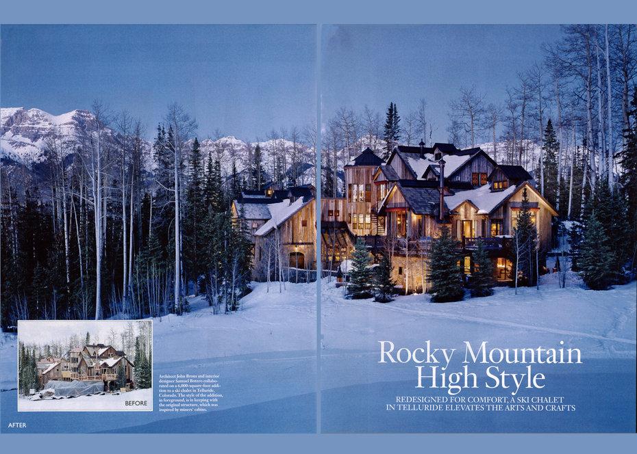 Architectural Digest, Publication, magazine