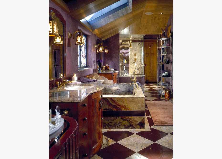 Bathroom, ROCKY MOUNTAIN, ARCHITECTURAL DIGEST