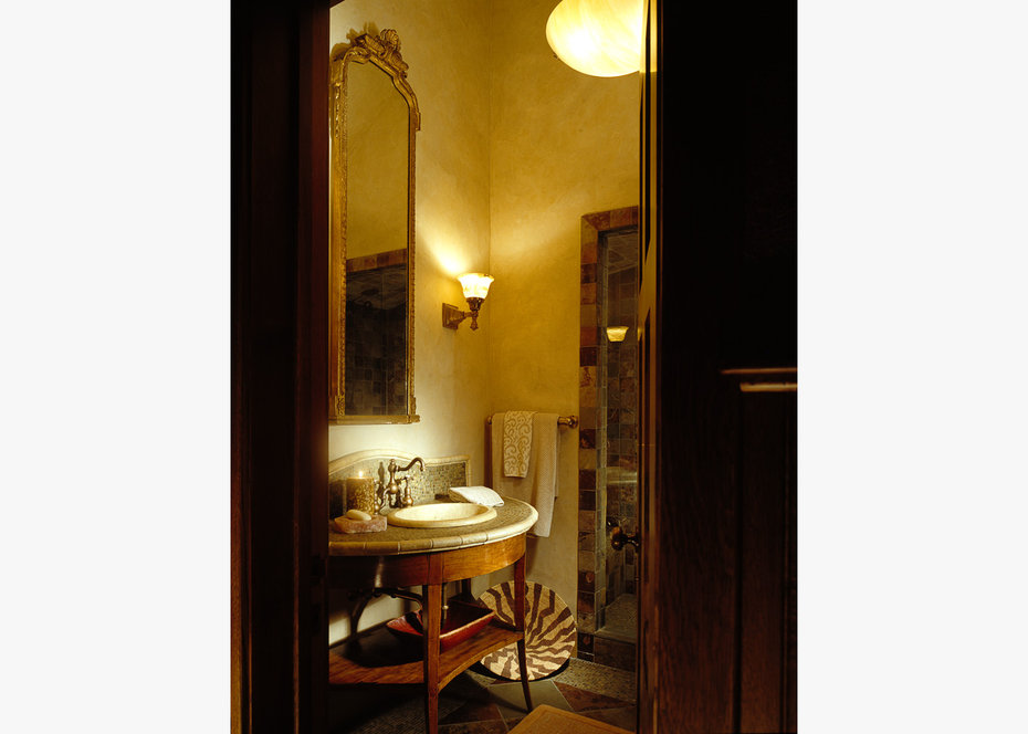 Bath Room, ROCKY MOUNTAIN, ARCHITECTURAL DIGEST