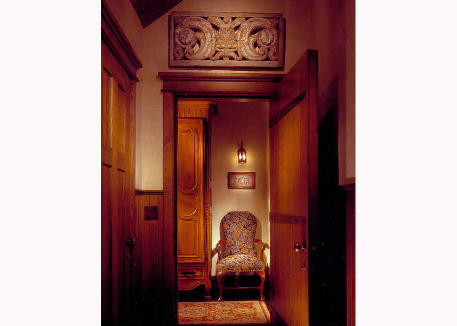 Detail, HALL, ROCKY MOUNTAIN, ARCHITECTURAL DIGEST