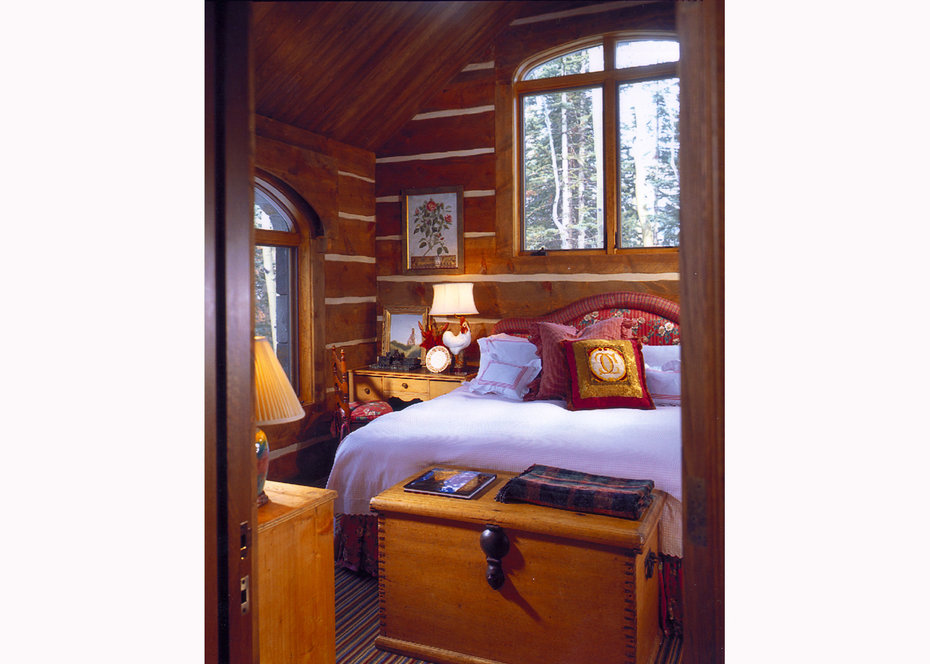 Bedroom, ROCKY MOUNTAIN, ARCHITECTURAL DIGEST