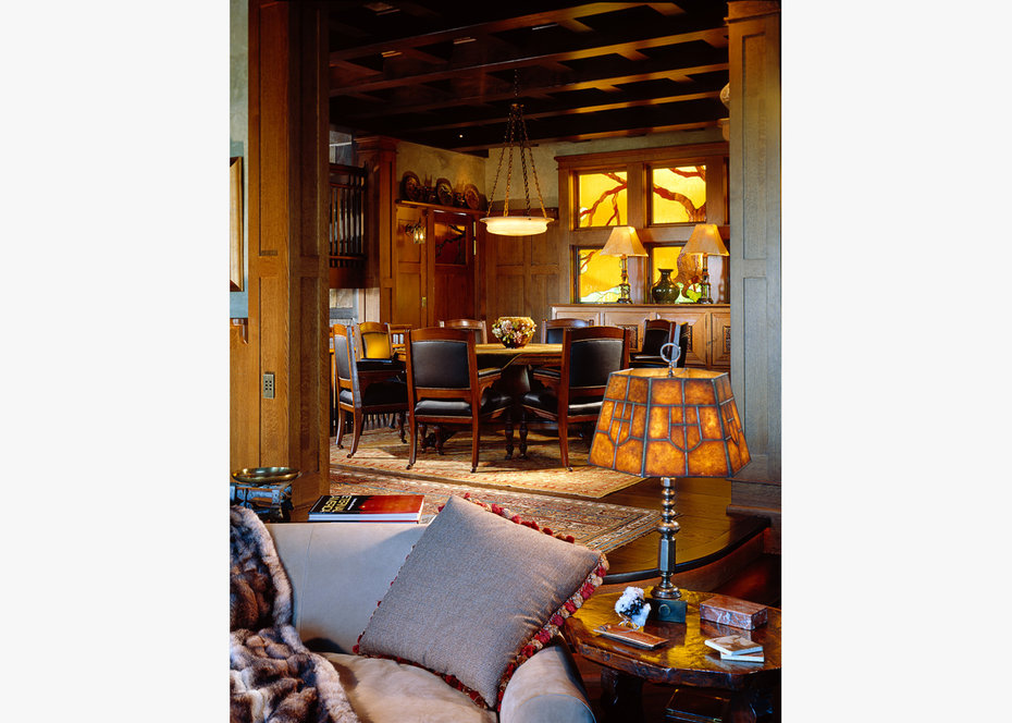 Dining Room, ROCKY MOUNTAIN, ARCHITECTURAL DIGEST
