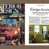Interior Design, Cover, Country Retreat, Article
