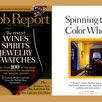 Robb Report, Cover