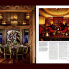 Architectural Digest, Townhouse, Dining Room, Home Theater